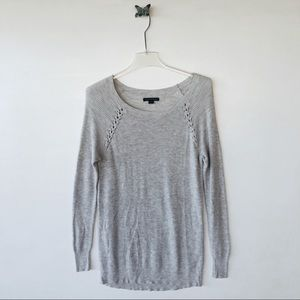 American Eagle gray sweater size medium